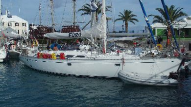 Photo of Cruce del Atlántico en el velero Foro                     Martin Pachiani