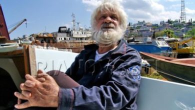 Photo of Evgeny Gvoznev, un gran navegante y su pequeño barco