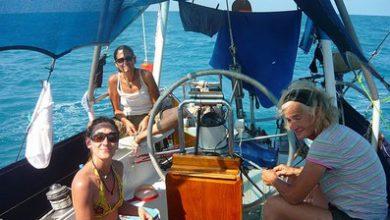 Photo of Marisa Bianco – velero Huayra – Noumea – Darwin – Australia – Etapa 8