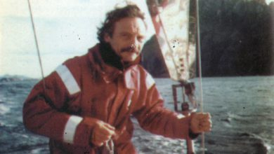 Photo of Enrique Celesia – velero Vito – Viaje alrededor de  Sudamérica – cabo de Hornos