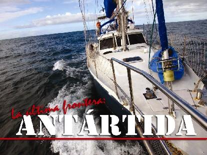 El velero Quijote rumbo a la Antartida