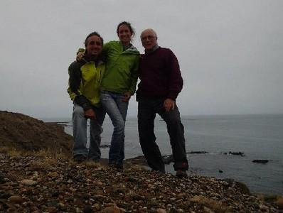 Federico, Laura y Marcos