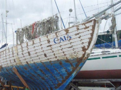 velero Gaia de Beto