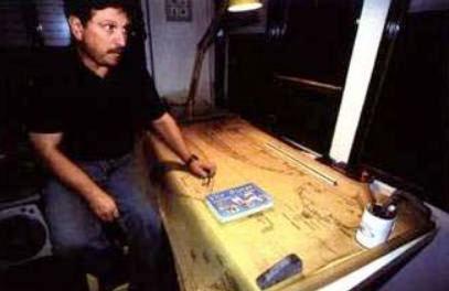 Alonso en su estudio