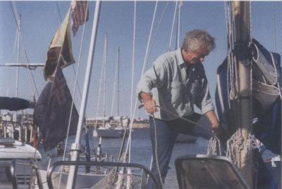 El Charrua en el Puerto del Buceo, Montevideo, Uruguay