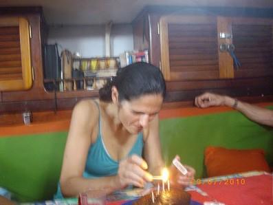 Cumpleaños de Paula