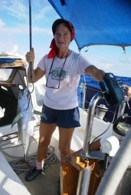 Marisa y su pesca