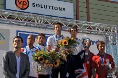 podio de Oro