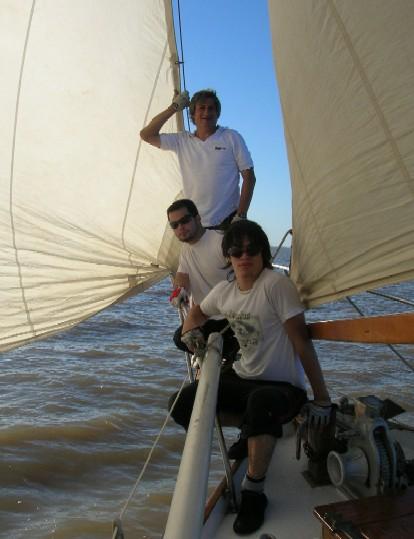 Jorge y su tripulación