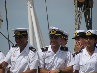 Despedida de la famila-buena navegación!!!