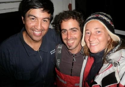 Jon, Andoni y Silvina