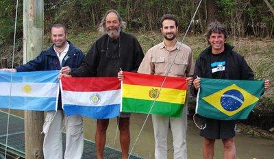 Tripulación del Guaraní